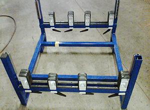 Metal-rack
